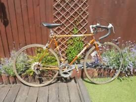 Vintage retro raleigh racer racing road bicycle bike