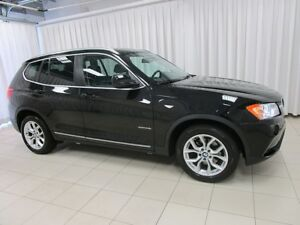 2013 BMW X3 28i x-DRIVE SUV w/ NAVIGATION, PANORAMIC ROOF & RE