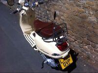 Piaggio Vespa LXV 2009 Limited Edition 125cc rare low mileage 12 months MOT