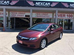 2012 Honda Civic EX AUT0 A/C SUNROOF ONLY 79K