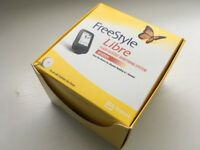 Freestyle Libre 'no prick' blood glucose testing reader - New, unused, boxed