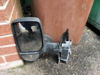 Ford transit wing mirror left