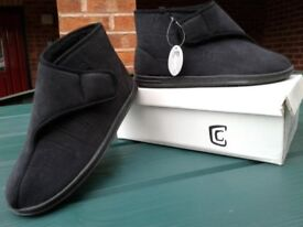 Mens Boot type slippers