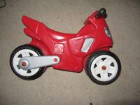 Step 2 toy motorbike