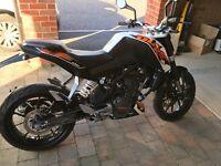 KTM Duke 125cc learner legal