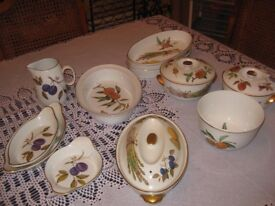 Royal Worcester Evesham Serving Dishes