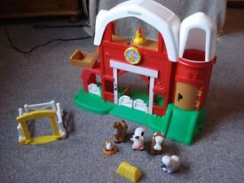 Little people farm with sounds and animals