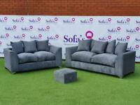 Brand new jumbo cord 3+2 seater sofa sets 😍🔥✅