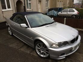 Stunning BMW 325CI M SPORT CONVERTIBLE **Reduced 2200 ono**
