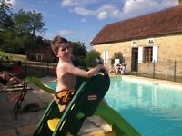 Special needs summer help for busy house in Southern France with pool