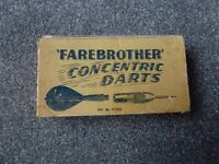 Early FAREBROTHER Concentric Darts with Feather flights