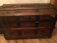 Pirate Trunk / chest/ ottoman (storage)