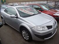 Renault Megane dynamique cabriolet,full MOT,very clean tidy car,runs and drives as new,only 22k
