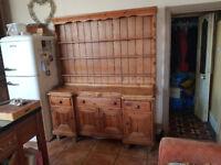 Antique Country Farmhouse Dresser.