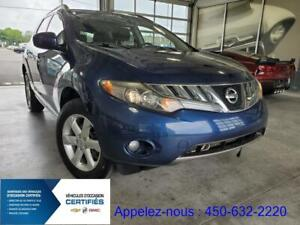 2009 Nissan Murano SL, AWD, GROUPE ELECTRIQUE, CAMERA, SIEGES CH