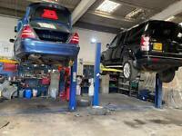 Ramp for rent/hire in workshop/garage Self Service Barking East London