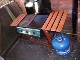 Barbeque with cylinder included.