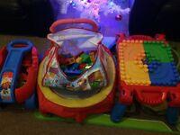 Mega block toys