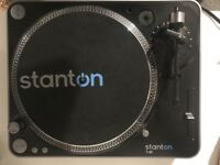 Stanton T62 Turntable Vinyl Record Player - Direct Drive
