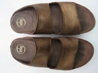 Sparkling brown Fitflops, size 6