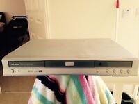 Silver alba DVD player