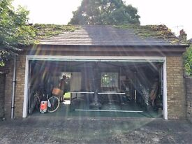 Secure Garage space to rent in Richmond - 125 Sq Ft (half of the garage available)