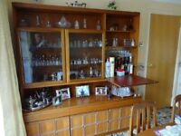 Glass Display Cabinet and Sideboard