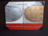 Modern Art Canvas Picture Painting new And Sealed Delivery Available