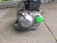 Kawasaki klx 2014 engine