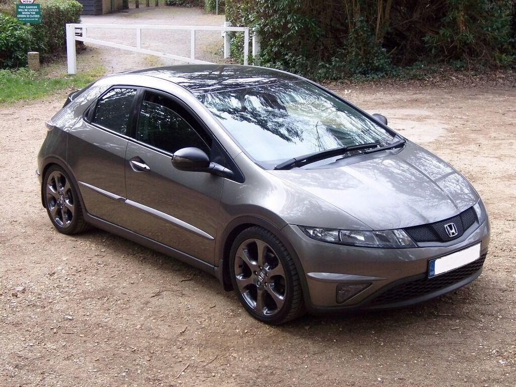 2006 honda civic 2 2 ictdi es sport 5 door in galaxy grey metallic 61500 miles in ferndown. Black Bedroom Furniture Sets. Home Design Ideas