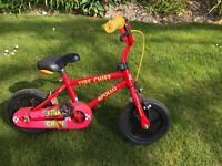 Boys learner bike with stabilisers ..