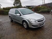 Vauxhall Astra Van 1.7 Diesel.In metallic silver.Air Con and Cruise Control.Lovely condition