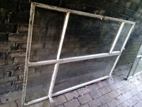 FREE! Windows - 150 x 100cm Metal Framed x 2. Allotment or garden shed use?