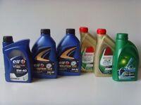 Castrol, ELF, BP 5W-30 / 5W-40 Fully Synthetic Engine Oil