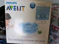 New Avent microwave steriliser
