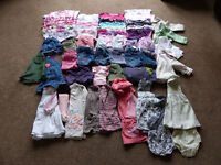 9 to 12 months Girls Bundle **Over 50 items!!** Next, M&S, Baby Gap, Mothercare etc etc