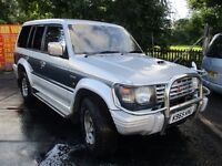 1992 K MITSUBISHI PAJERO 2.5 DIESEL MOT 16/09/17 CENTRAL LOCKING AUTOMATIC 4WD AC 7 SEATER PX SWAPS