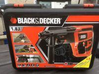 Black & Decker Corded 710W SDS Plus Rotary Hammer Drill