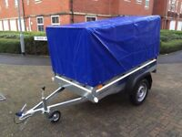 FARO PONDUS BRAND NEW CAR BOX TRAILER WITH HIGH 80 CM COVER