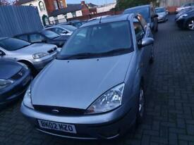 Ford Focus 1.6 petrol fully loaded fully leather long mot 495 no offers