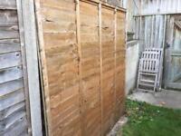 Garden fences x2
