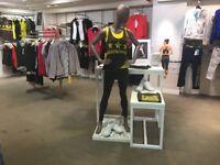 AthLeisure Sport Fashion Shop Mannequins