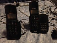Pair of working landline phones