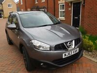 Nissan Qashqai 360 automatic, low mileage very good condition. registered Oct 2013