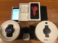 iPhone 6S 128gb & Moto 360 bundle
