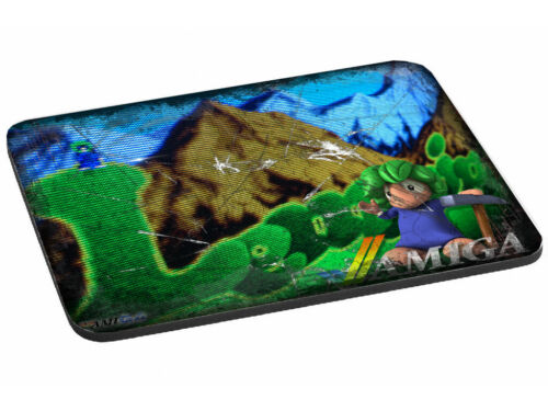Eye-Catching+LEMMINGS+Themed+Mouse+Mat+-+Nice+Rustic+Look+%28056%29+Amiga