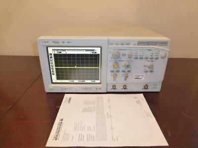 Agilent 54833a 2 Channel 1ghz 4 Gsas Infiniium Oscilloscope - Calibrated