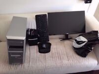 "i5 Desktop PC 8GB Ram - 4GB Graphics Card + 27"" Monitor + 120GB Samsung SSD + More"
