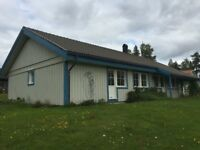 Large Family Home in Northern Sweden, Norsjövallen, Västerbotten. Holiday 2nd Home 4 Bedrooms