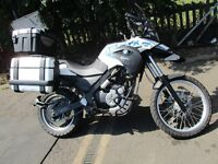 2012 12 BMW G650 GS SERTAO SPECIAL EDT LOW 18K LONG MOT 04/17 BIG EXTRAS £££ MINT CONDITION PX SWAPS